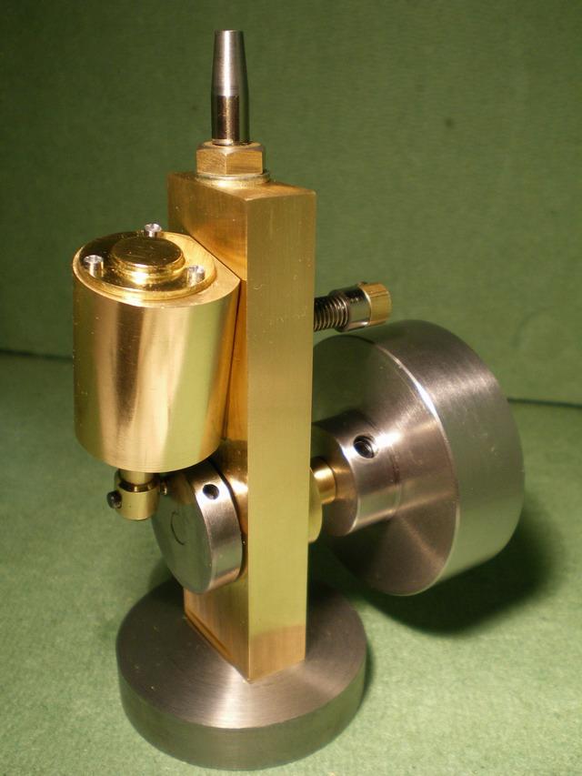 Simple Oscillating Steam Engine