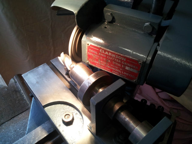 Clarkson Mark 1 Tool and Cutter Grinder