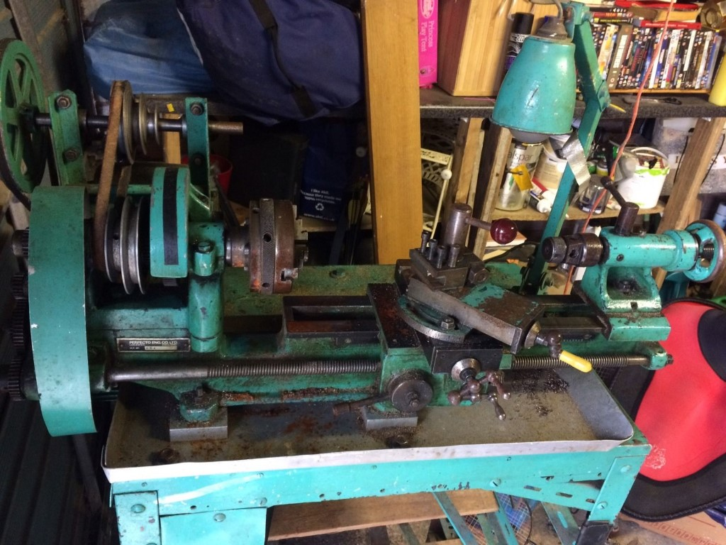 Perfecto Lathes, Drills, Grinders etc